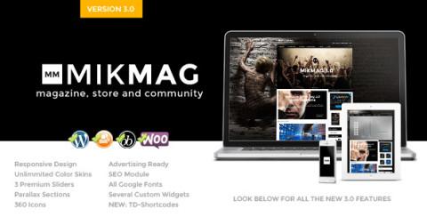MikMag v3.4 от (Theme Dutch) Премиум шаблон