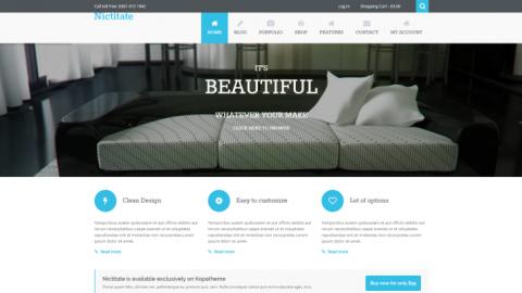 Nicititate v2.0.3 от (Kopatheme) премиум шаблон для WordPress