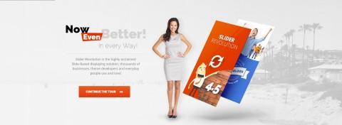 Slider Revolution v4.6.93 от (ThemePunch) плагин для WordPress