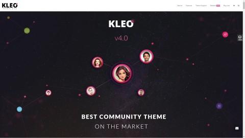 KLEO v4.0.2 WordPress Премиум тема от (7th Queen)