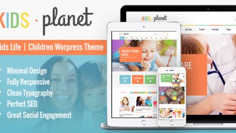 Kids Planet v.1.8 Универсальная Детская Тема от Ancora Themes