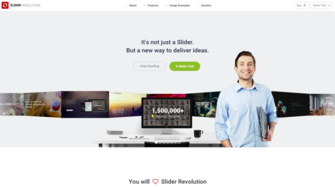 Revolution Slider v5.2.1 премиум слайдер WordPress от Themepunch