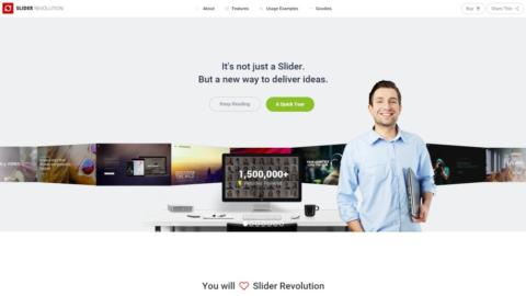Revolution Slider v5.2.1 премиум слайдер WordPress от Themepunch